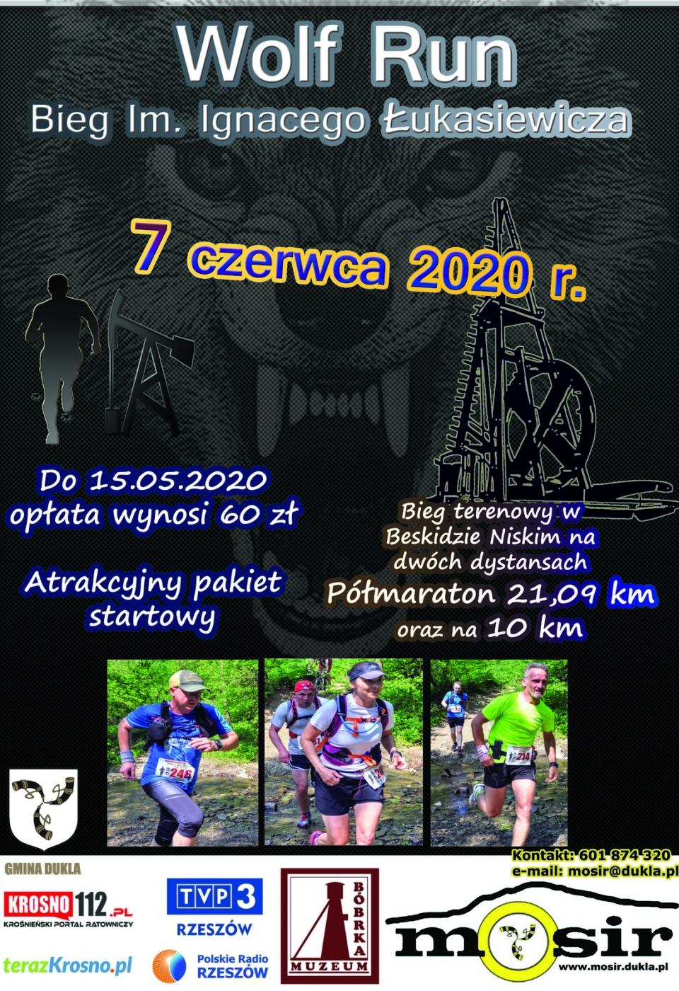 Bieg Dukla Wolf Run 2020m