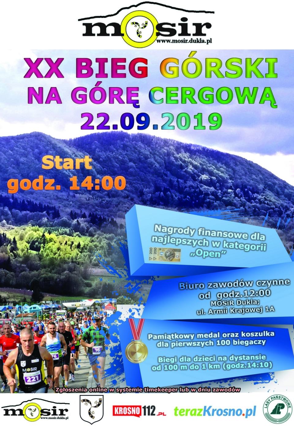 Cergowa XX 2019 biegm