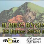 Zapraszamy na II Bieg Rysia, 18 lipiec 2020 r.
