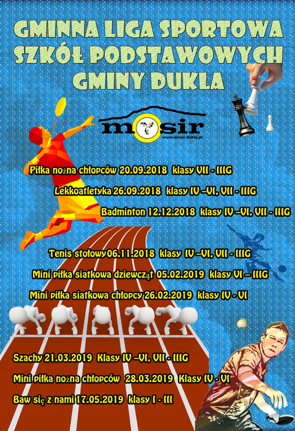 Liga sportowa gmina Dukla