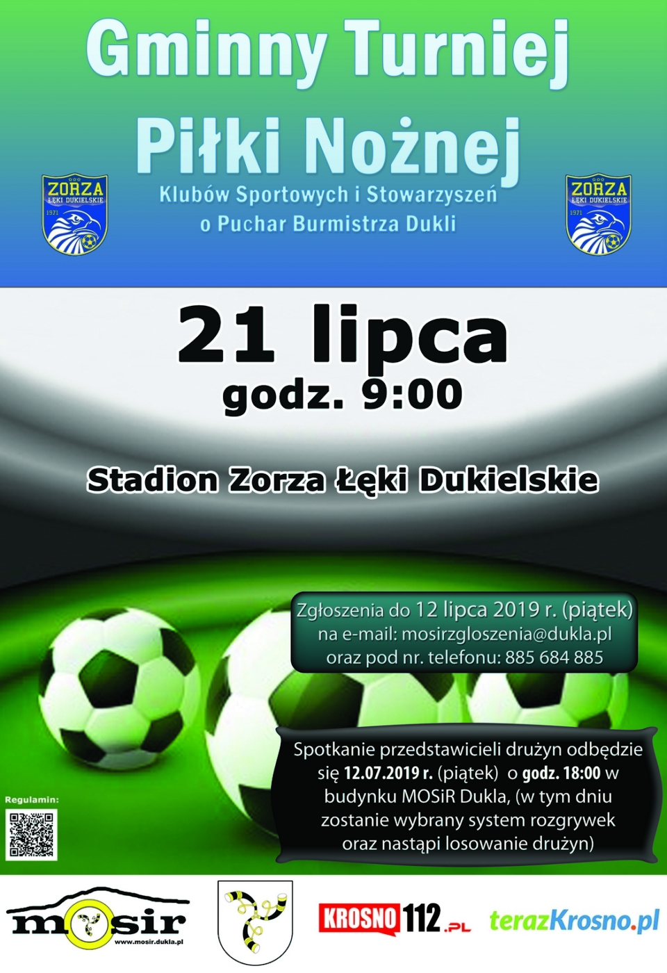 Pilka nozna klubow burmistrza 2019m