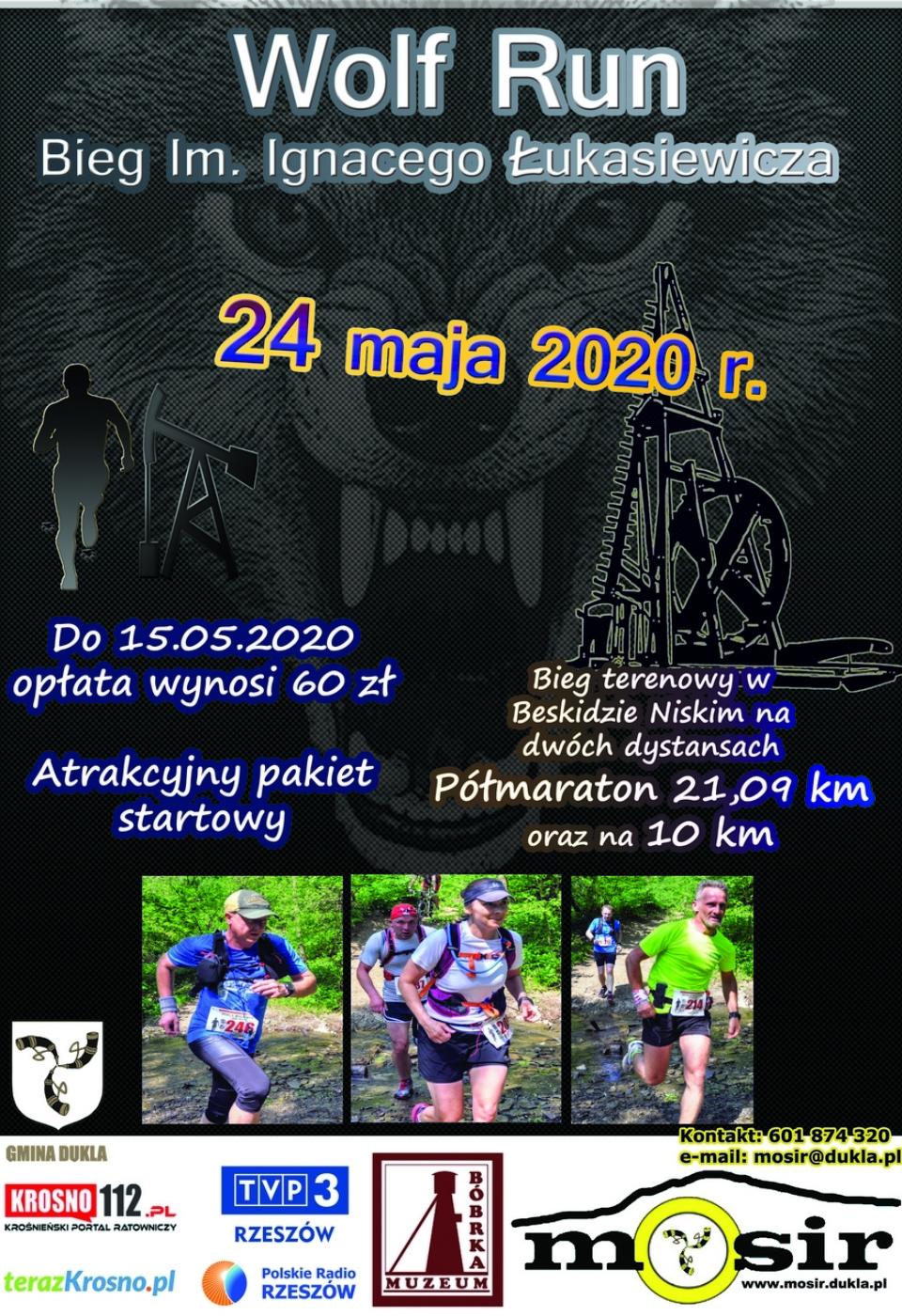 Plakat Ulotka 3 biegi 2020mm
