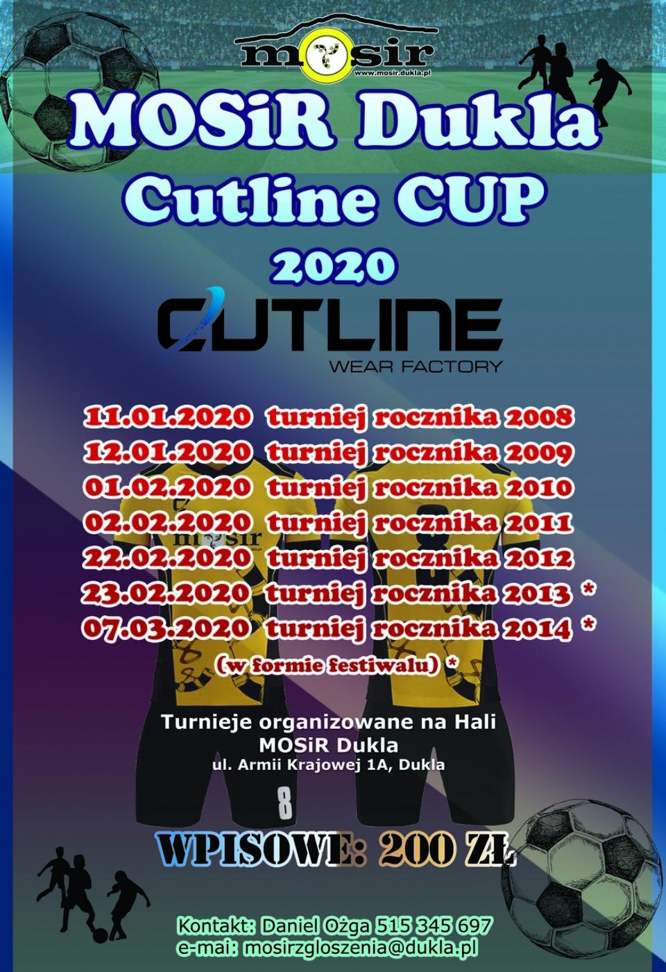 Plakat mosir dukla cup 2020m