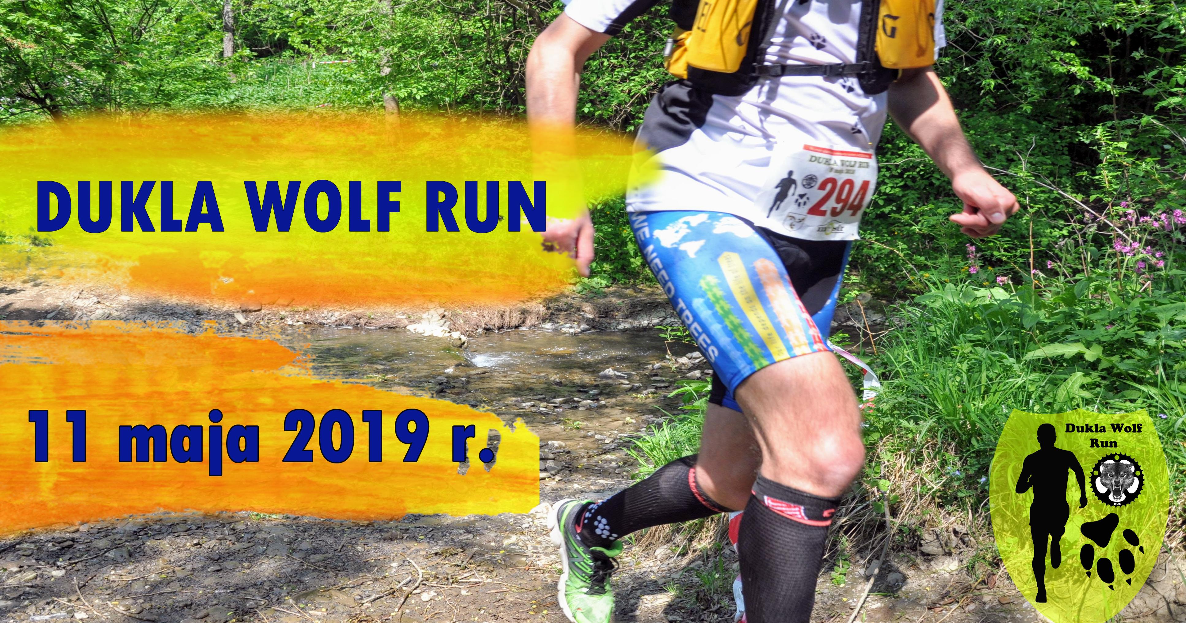 baner Dukla wolf run 2019