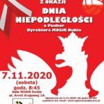 Otwarty Turniej Piłki Siatkowej z Okazji Dnia Niepodległości, 7.11.2020