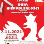 Zapisy na Turniej siatkarski z okazji Dnia Niepodległości, 7.11.2021 r.
